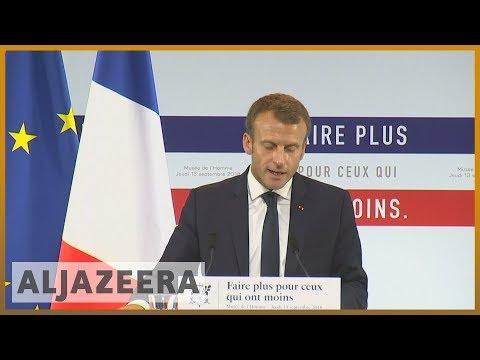 🇫🇷 France unveils 'new battle' against poverty l Al Jazeera English