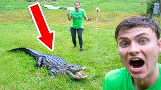 THE POND MONSTER ATTACKED ME!! - Video Youtube
