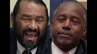 """ANSWER THE QUESTIONS!!!"" Al Green GETS PISSED OFF & DESTROYS Ben Carson On Trump's Budget"