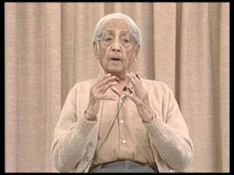 Does attention become a constant spontaneous state of action? | J. Krishnamurti