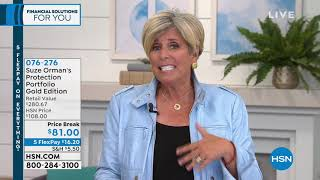 HSN | Suze Orman Financial Solutions for You 02.17.2019 - 03 PM