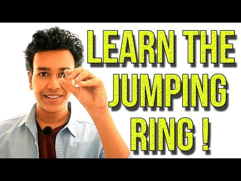Jumping Ring Magic Trick Revealed