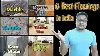6 सबसे बढ़िया Flooring for indian house //Best इंडियन  flooring suited for indian homes