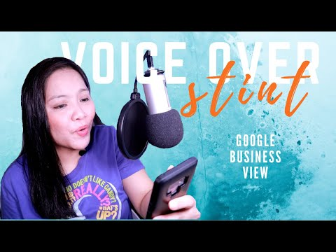 VOICEOVER STINT: Online Advertisement for Google Business View | PASSION PROJECT VIDEO 02