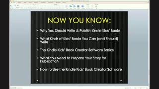 How to Write, Publish & Profit  with Kindle Kids' Books With Shawn Hansen