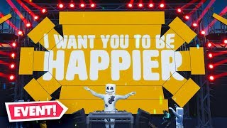 Fortnite *LIVE* Marshmello Concert Event!