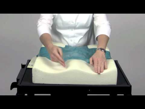 Watch a demonstration on the Invacare® Matrx® Stabilite Cushion