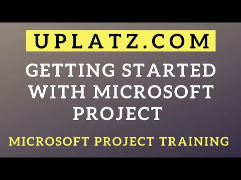 Getting started with Microsoft Project | Microsoft Project Training | MS ...