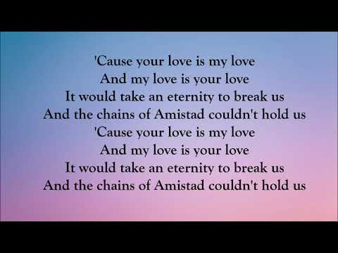 Whitney Houston - Your Love Is My Love (LYRICS)