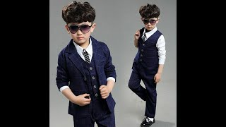 Little Boy Dress Style    Kids Dresses    Baby Boys Fashion