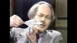Richard Kline, Paper Airplane Designer, on Late Night, March 15, 1984