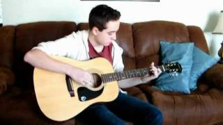 Theory of a Deadman-Heaven..Little by Little Acoustic Cover by Jeff Matthew 2012