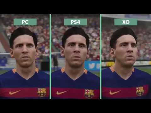 FIFA 16 – PC vs  PS4 vs  Xbox One Demo Graphics Comparison FullHD60fps