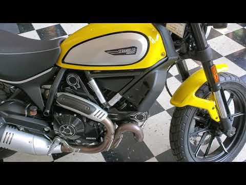 2019 Ducati Scrambler Icon in Middletown, New Jersey - Video 1