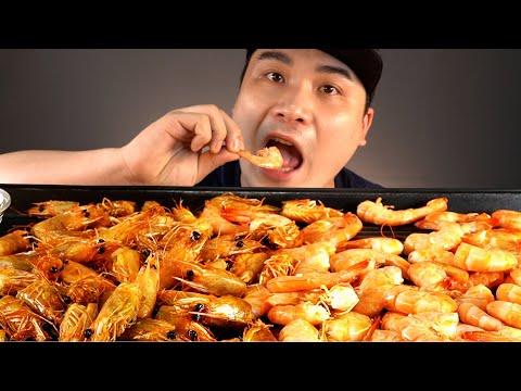 대하소금구이와 버터머리구이 먹방~!! 리얼사운드 ASMR social eating Mukbang(Eating Show)