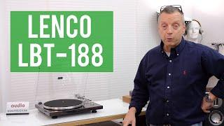 LENCO LBT 188 - Giradischi economico e al passo con i tempi!