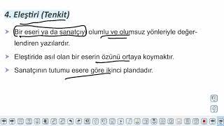 Eğitim Vadisi AYT Edebiyat 32.Föy Öğretici Metinler Konu Anlatım Videoları