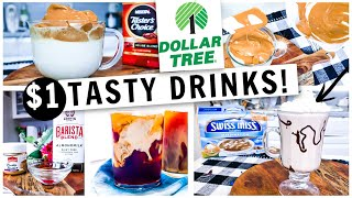 My Morning Drink Recipes All From Dollar Tree! Whipped Coffee, Chai Tea Latte & More