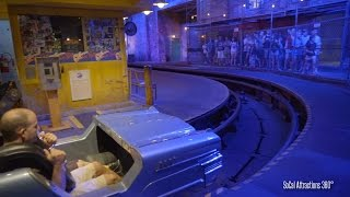 [4K] Rock N Roller Coaster Front Row POV - High Speed Indoor Coaster - Disneys Hollywood Studios
