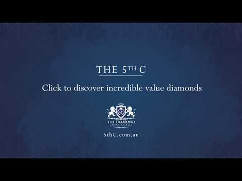 The 5th C - He is everything you need to know about diamonds
