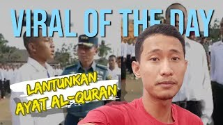 VIRAL HARI INI: Taruna yang Viral Lantunkan Ayat Alquran Ungkap Alasan Ingin Jadi TNI AL