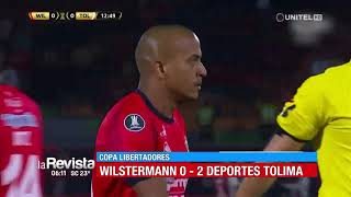 Copa Libertadores: Wilstermann 0-2 Dep. Tolima
