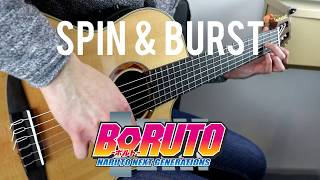 Spin And Burst ( Boruto: Naruto The Movie / Boruto Episode 65 ) Guitar Cover | GuitarGheddu