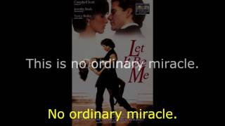 """Donna Summer - Ordinary Miracle LYRICS - OST """"Let It Be Me"""" 1996"""