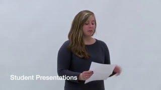 Computer Science Colloquium - December 03, 2015 - Student Presentations