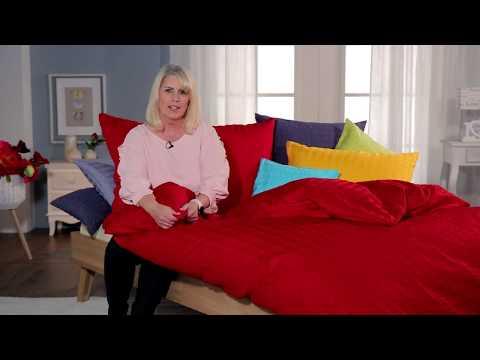 Uni Satin Seersucker - die bügelfreie Bettwäsche von Angela Bruderer