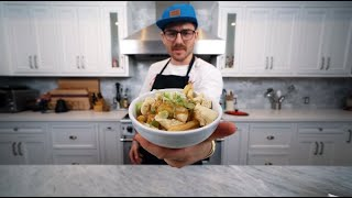 //  happy juneteenth. black lives matter   thank u for watching me make canada food  aries kitchen live airs tonight at 5pm pst at:  http://www.twitch.tv/jennajulien  we will be making pavlova  recipe: poutine - https://bit.ly/3dnpFMY cheese - https://bit.ly/37JtkmL   biz email: julienfightingsolo@gmail.com  socials twitter: http://twitter.com/juliensolomita instagram: http://instagram.com/juliensolomita twitch: http://www.twitch.tv/jennajulien podcast: http://youtube.com/jennajulienpodcast byte: @julen my prints: https://bit.ly/2PDC1Fv  my video gear https://kit.co/juliensolo/gear  musicbed Sync ID: MB01NSRKFTB3RGW