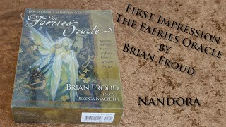 First Impression The Faeries Oracle - Brian Froud