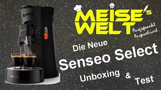 Philips Senseo Select - Unboxing & Test & Erster Eindruck