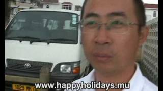 preview picture of video 'Part 7 - Mauritius Video - Excursions Mauritius Mr. Yang ChengZhi from Shanghai visited Mauritius'