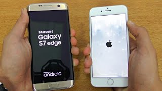 iPhone 6 vs Samsung Galaxy S7 Edge - Speed Test (4K)