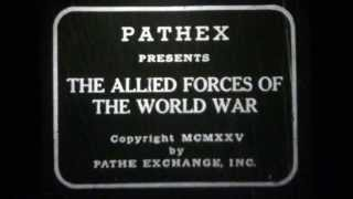 Pathex Movie M33 1925 Allied Forces of World War I