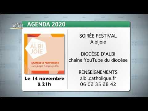 Agenda du 09 novembre 2020