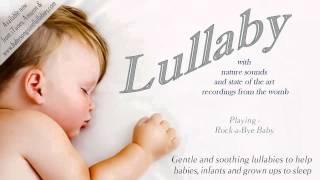 Колыбельная для младенцев   расслабляющие колыбельные и детские песни со звуками природы