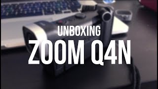 Unboxing Zoom Q4n + Test