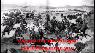 Comanche the Brave Horse Lyrics