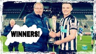 Newcastle United U23's win the Northumberland Senior Cup