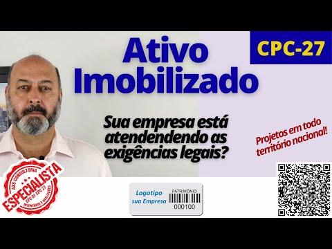 CPC-27 - sua empresa atende as exigências legais? Consultoria Empresarial Passivo Bancário Ativo Imobilizado Ativo Fixo