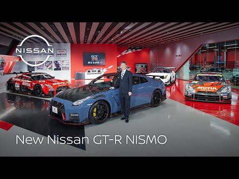 2022年モデルの日産GT-R NISMOが公開!戦いの場をイメージしたステルスグレー