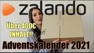 über 400 WERT! Der Zalando Adventskalender 2021 ist CRAZY!