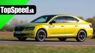 Škoda Superb 2.0 TSI Sportline III test - TOPSPEED.sk Maroš ČABÁK