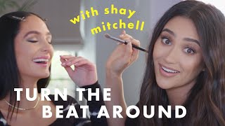 Shay Mitchell's Makeup Skills Are…Something! 👀 | Turn The Beat Around | Cosmopolitan
