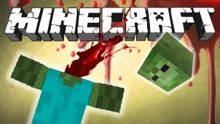 Minecraft Mod Showcase: Mob Amputation, Mob Dismemberment and Back Tools!