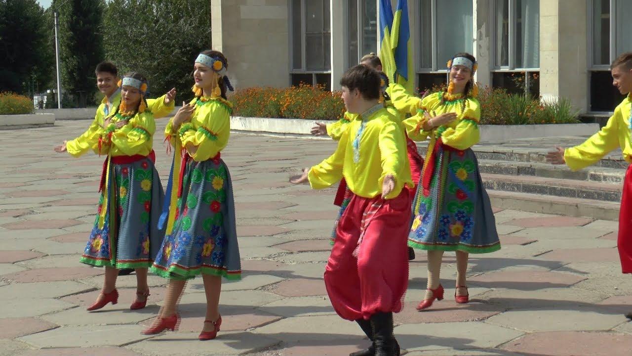 В місті Рубіжне відбулися заходи з нагоди Дня Прапора України