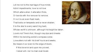 Sonnet 116 by Shakespeare