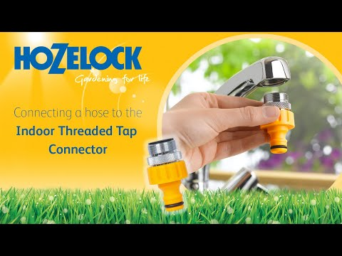 How to connect your hosepipe to a kitchen mixer tap using a Hozelock 2159 connector